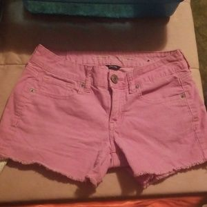 Pink American eagle shorts